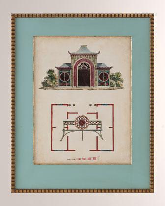 Garden Follies IV Art Print  and Matching Items