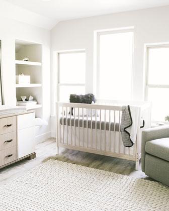 Jersey Standard Crib Sheet  and Matching Items