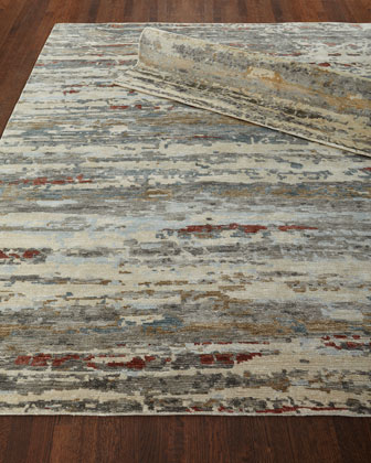 Abella Hand-Knotted Rug  10' x 14'  and Matching Items