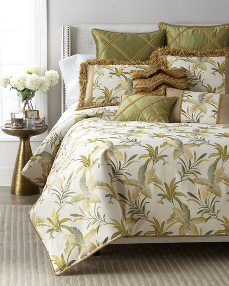 Botanical Embroidered King Duvet