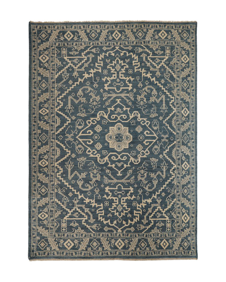 "Shepard Hand-Knotted Runner, 2'6"" x 8'"