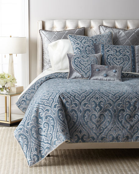 Sevilla Damask Queen Duvet Cover