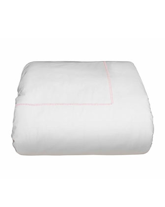 Bitsy Dots Twin Duvet Cover  White/Light Pink   and Matching Items