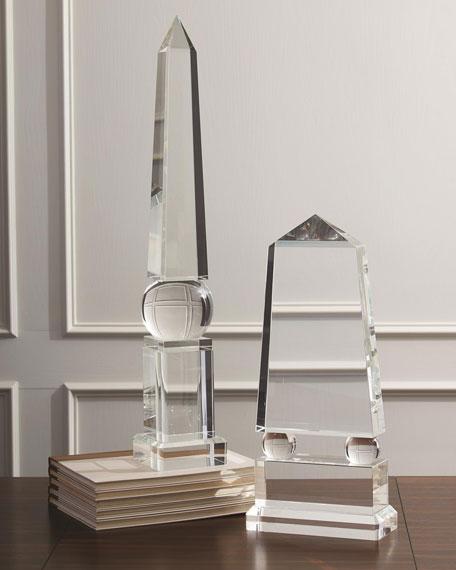 Wide Crystal Obelisk