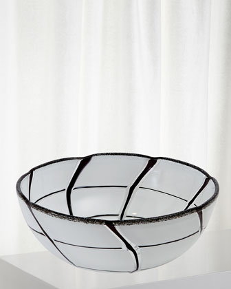 Abstract Grid Bowl  and Matching Items