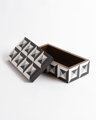 Large Deco Border Square Box  and Matching Items