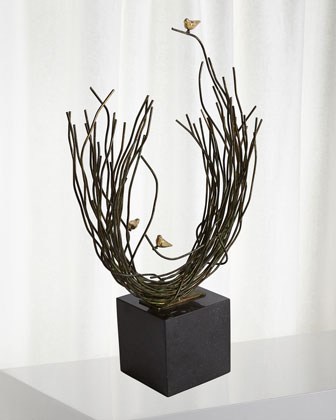 Small Birds Nest Sculpture  and Matching Items