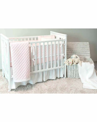 Amparo Crib Pillowcase  Pink  and Matching Items
