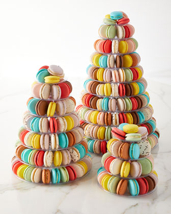 10-Tier Macaron Tower and Matching Items