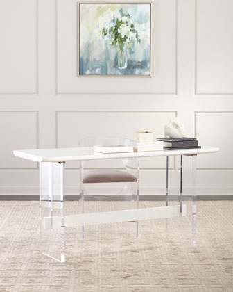 Quentin Counter Height Acrylic Table  and Matching Items