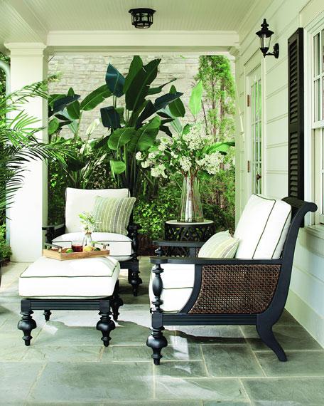 Hemingway Plantation Cocktail Table