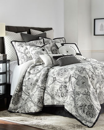 Valencia 4-Piece King Comforter Set  and Matching Items