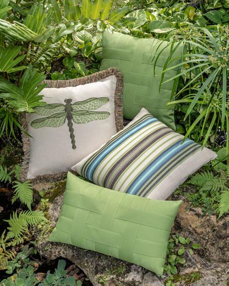 Dragonfly Sunbrella Pillow