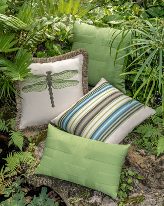 Multi-Stripe Sunbrella Pillow  and Matching Items
