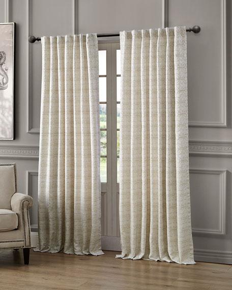 "Astrid Back Tab Curtain Panel, 84"""