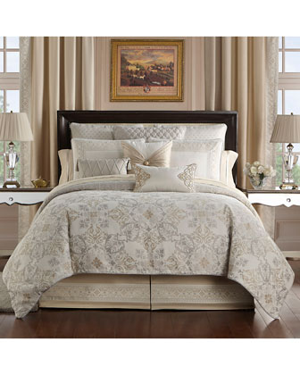 Shelah Reversible 4-Piece King Comforter Set  and Matching Items