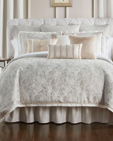 Belissa Reversible 4-Piece Queen Comforter Set