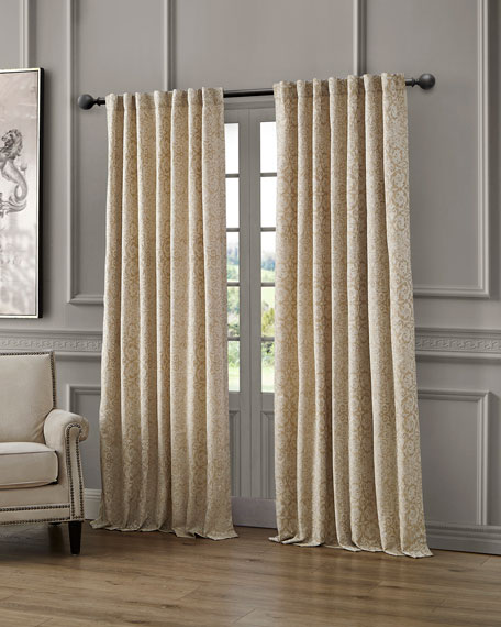 Renly Back Tab Curtain Panel, 96""