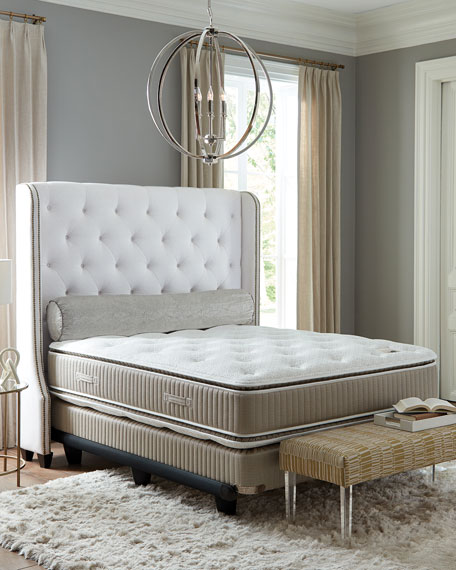 Saint Prince Noir Collection California King Mattress & Box Spring Set