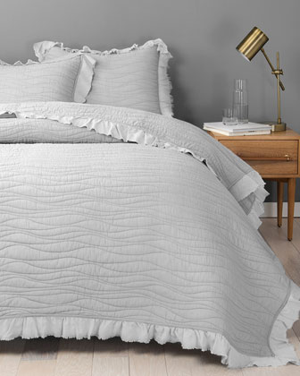 Katella King Coverlet and Matching Items