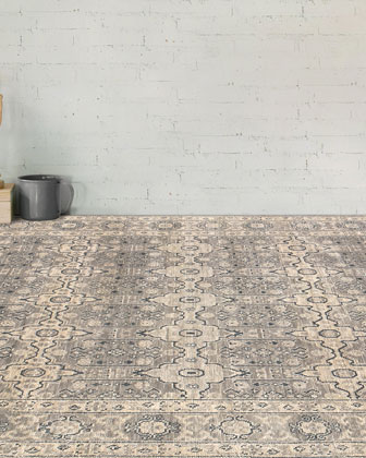 Dayton Hand-Knotted Rug  6' x 9'  and Matching Items
