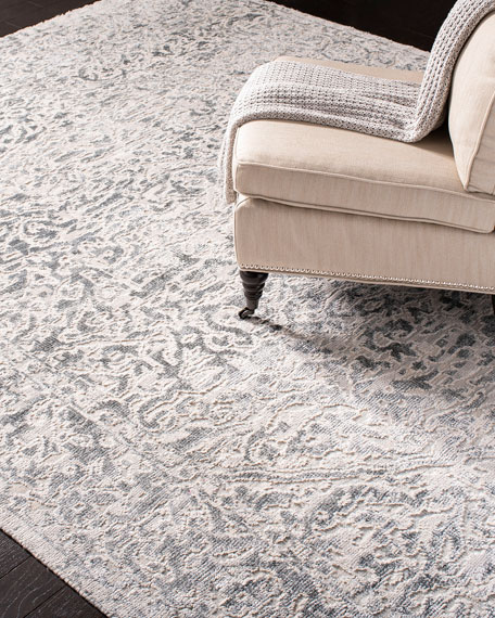 Massey Hand-Knotted Rug, 10' x 14'