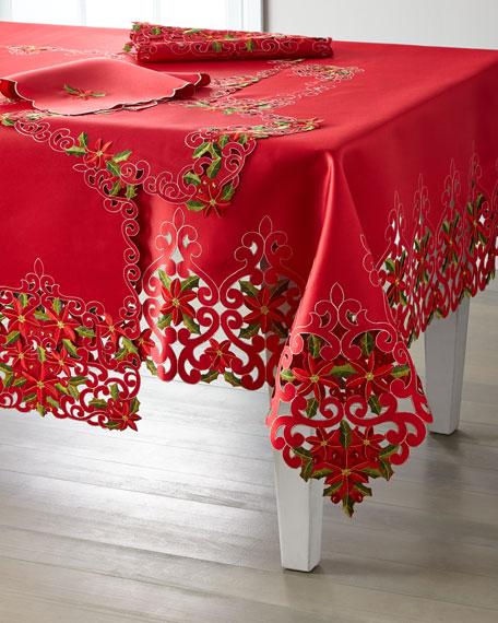 Poinsettia Napkins, Set of 4