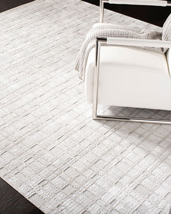 White Rock Hand-Loomed Rug