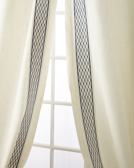 Set of Two Ambrosia Curtain Panels, 96""