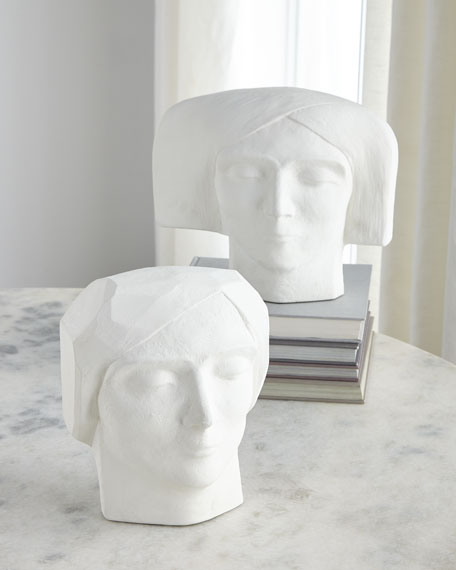 Plaster Bust Male