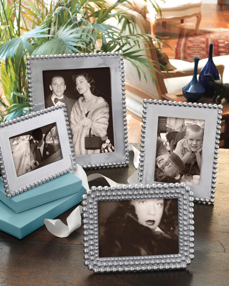 """Pearled Picture Frame, 8"""" x 10"""""""