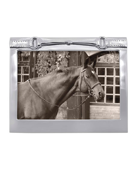 "Horse Bit Picture Frame,  5"" x 7"""
