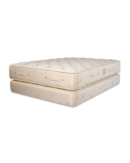 Dream Spring Classic Plush King Mattress Set
