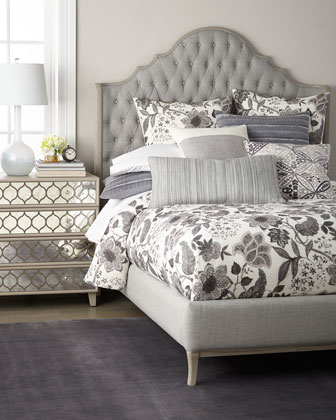 Melody Tufted Queen Bed  and Matching Items