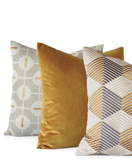 Etude Zigzag Decorative Pillow