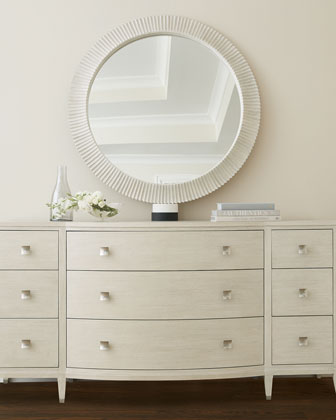 East Hampton Round Mirror  and Matching Items