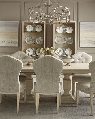 East Hampton Pedestal Dining Table  and Matching Items
