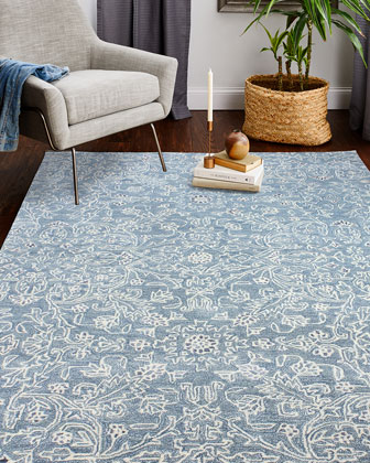 Gardendale Hand-Tufted Rug  8' x 10'  and Matching Items