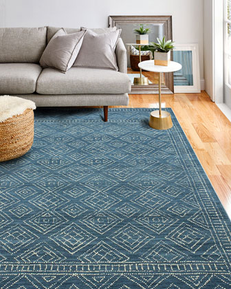 Felipe Hand-Tufted Rug  8' x 10'  and Matching Items