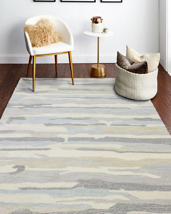 Thar Hand-Tufted Rug  5' x 8'  and Matching Items
