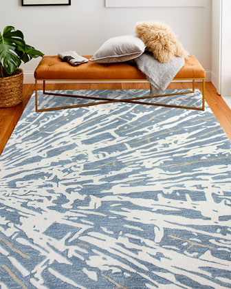 New Hope Hand-Tufted Rug  8' x 10'  and Matching Items