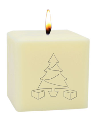 3 Eco-Luxury Merry Christmas Soy Candle  and Matching Items