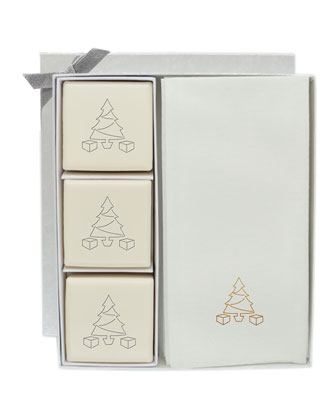 Eco-Luxury Merry Christmas Courtesy Gift Set  and Matching Items