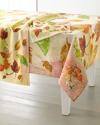 Autumn Leaves Placemats  Set of 4 and Matching Items