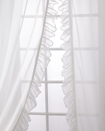 Carolina Sheer Ruffle Curtain Set  96  and Matching Items