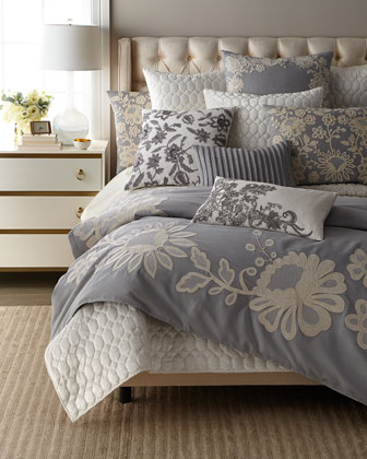 Vedremo Floral European Sham  and Matching Items