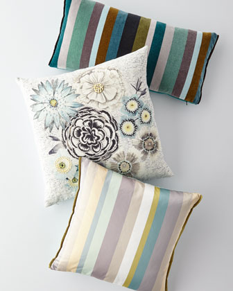 Lambusa Cobalt Pillow  and Matching Items