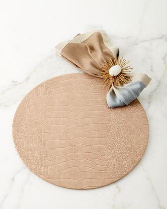 Dip-Dye Linen Napkin  Neutral and Matching Items