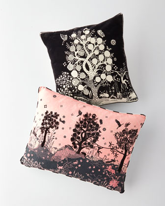 Bois Paradis Bourgeon Pillow  and Matching Items