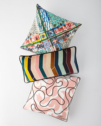Talisman Multicolored Pillow  and Matching Items